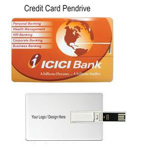 Pendrives credit card model